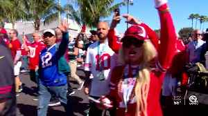 Fans fired up for Super Bowl LIV at Hard Rock Stadium in Miami Gardens [Video]