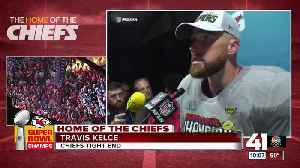 News video: Chiefs TE Travis Kelce reflects on SBLIV win