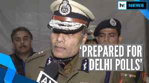 Delhi Election 2020 l 'Inflammatory speeches being monitored': Delhi Police [Video]