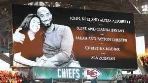 NFL honors Kobe Bryant during Super Bowl LIV [Video]