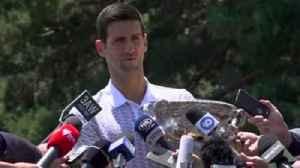 Djokovic apologises for umpire outburst [Video]