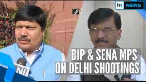 Delhi shootings: BJP MP says 'youth misguided', Shiv Sena blames govt mindset [Video]