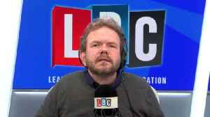 James O'Brien's caller says May & Corbyn are controlled by shady group [Video]