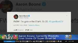 Yankees Manager Aaron Boone Calls Exact Super Bowl Final Score Just Before Kickoff [Video]