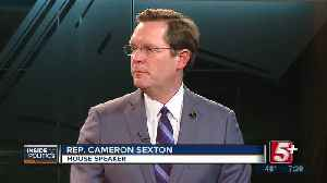 Inside Politics: Speaker Cameron Sexton P.2 [Video]