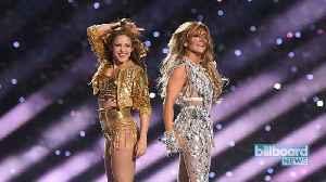 News video: JLo and Shakira's Epic Super Bowl Performances | Billboard News