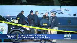 1 Dead, 5 Wounded In Shooting On Greyhound Bus In Central California [Video]