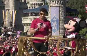 Super Bowl MVP Mahomes honored with annual parade at Disney World [Video]
