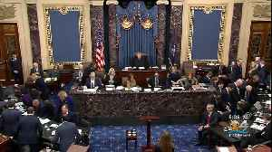 Senate Impeachment Trial Winding Down [Video]