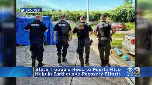 New Jersey Sending Additional State Troopers To Aid In Puerto Rico Recovery [Video]