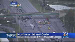 FHP To Close Down Northbound Lanes Of Turnpike At NW 74th Street [Video]