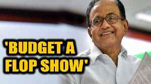 Chidambaram mocks Union Budget, compares it to a flop movie    OneIndia News [Video]