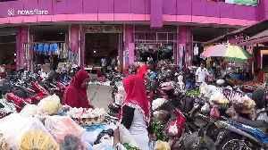 News video: Coronavirus: Garlic price doubles in Indonesia