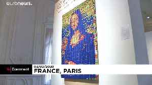 Da Vinci with a twist: 'Rubik's Mona Lisa' to go under the hammer in Paris [Video]