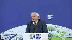 Attenborough encouraged by plans to tackle climate change [Video]