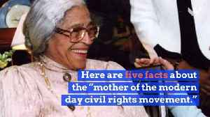 Black History Icons: Rosa Parks [Video]