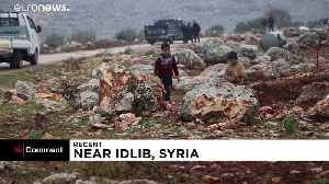 Nearly 300,000 displaced from Idlib by Syrian government bombardment [Video]