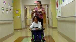 Child to receive 'magic wheelchair' [Video]