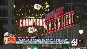 City prepares for Chiefs Kingdom champions parade [Video]