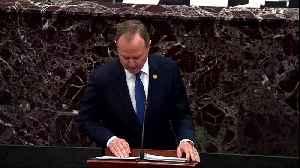 Democrats make last-ditch plea to convict Trump in Senate trial [Video]
