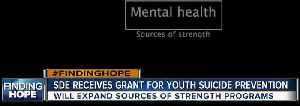 SDE receives grant for youth suicide prevention [Video]