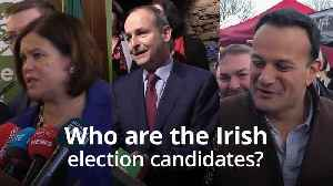 Who are the Irish election candidates? [Video]