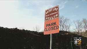 Short Line Hollow Park Closed Due To Reis Run Landslide [Video]
