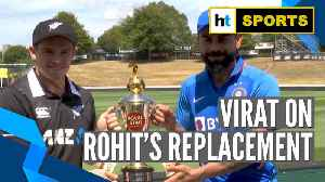 Ind vs NZ | 'Unfortunate that Rohit can't be a part of the ODI series': Virat Kohli [Video]