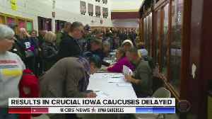 CBS News: Results In Iowa Caucuses Delayed [Video]
