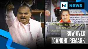 Adhir Chowdhury attacks BJP over Anantkumar Hegde's 'Gandhi' remark [Video]