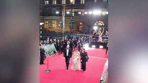 Duke and Duchess of Cambridge joke with crowd at Baftas [Video]