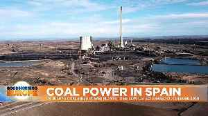 Spain plans to phase out coal-fired power plants by 2030 [Video]