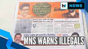 'Get out': Amid CAA debate, MNS posters warn illegal Bangladeshi migrants [Video]