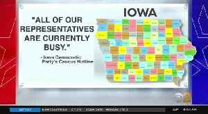 Chaos On Iowa Caucus Night [Video]