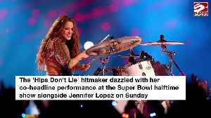 Shakira set for 2021 world tour after wowing at Super Bowl [Video]