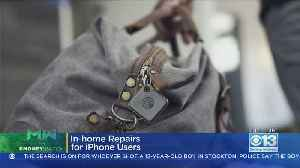Moneywatch: In-Home Repairs For iPhone Users [Video]
