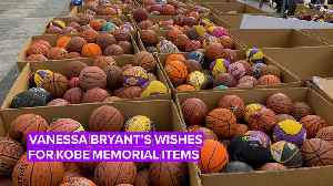 25,000 candles: The shocking numbers of items at Kobe's memorial [Video]