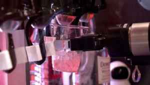 News video: Robots Serve Up Drinks in Tokyo to Combat Worker Shortage, Leaving Bartenders Shaken, Not Stirred