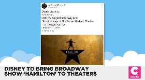 Disney Is Bringing Hamilton to the Big Screen [Video]