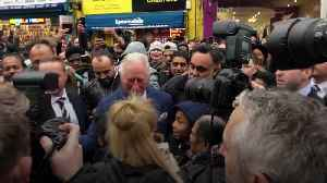 Prince of Wales mobbed after visit to TK Maxx [Video]