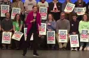 In NH, Warren says Iowa a 'bumpy start' [Video]