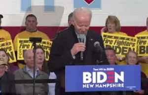 After Iowa caucus flub, Biden feeling 'really good' [Video]