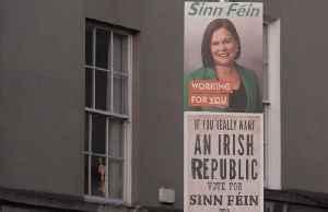 Sinn Fein polls surge on Irish unification pledge [Video]