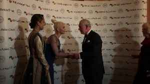 Prince Charles meets Katy Perry at British Asian Trust [Video]