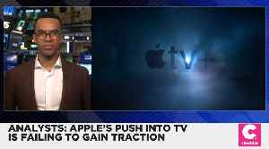 Apple's Push Into TV Is Failing to Gain Traction, Analyst Says [Video]