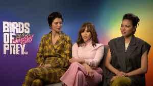 News video: 'Birds Of Prey' Cast Interview