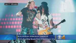 Guns N' Roses Announces Concert At Dick's Sporting Goods Park In Commerce City [Video]