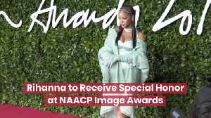 Rihanna And The NAACP Image Awards [Video]