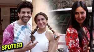 News video: Sara Ali Khan - Kartik Aaryan FUN MOMENTS With Media   Katrina Kaif At Rakesh Roshan's House