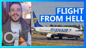 Four passengers collapse on Ryanair 'flight from hell' [Video]